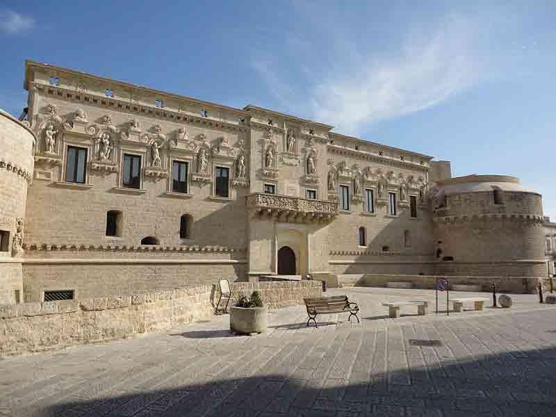 Castello Di Corigliano D Otranto Idee Per Una Serata